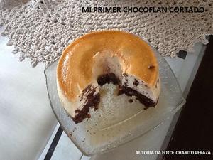 Receita de Mi Primer Chocoflan (Bolo Pudim de Chocolate)
