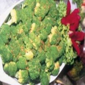 Receita de Mini Brócolis com Alho Pipoca
