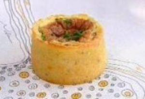 Receita de Mini Torta de Arroz