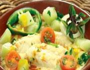 Moqueca de Bacalhau com Mamão Verde ou Chuchu