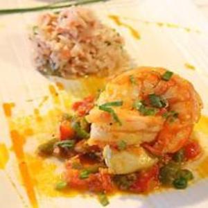 Receita de Moqueca de cherne com camarão