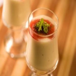 Receita de Mousse de abacaxi com graviola