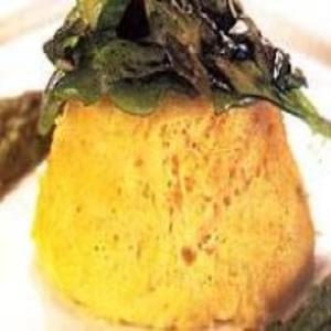 Receita de Mousse de Bacalhau com Pesto de Espinafre