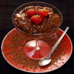 Receita de Mousse de Chocolate Diet