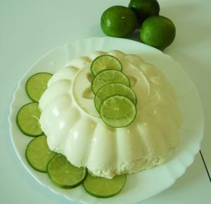 Receita de Mousse de Gelatina de Limão