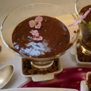 Receita de Mousse francesa de chocolate