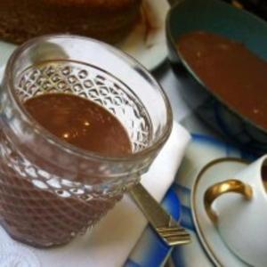 Receita de Mousse gelado de chocolate e queijo cottage