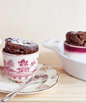 Receita de Mousse Suflê de Chocolate