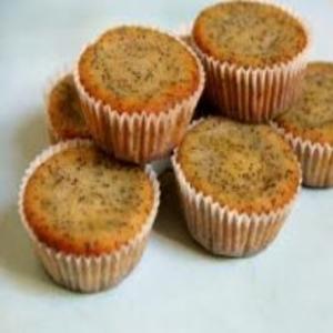 Receita de Muffin de Limão com Sementes de Papoula