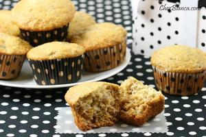 Receita de Muffins de banana com mel