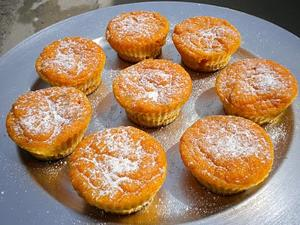 Receita de Muffins de cenoura