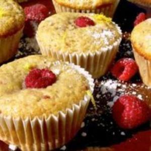 Receita de Muffins de limão e framboesa