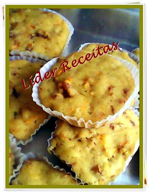 Receita de Muffins de Salsicha