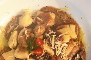 Receita de Nhoque de Batata com Molho Funghi