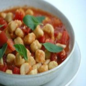Receita de Nhoque de grão-de-bico com molho de tomate fresco
