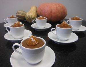 Receita de Cupcake au Potiron