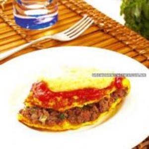 Receita de Omelete à Parmegiana
