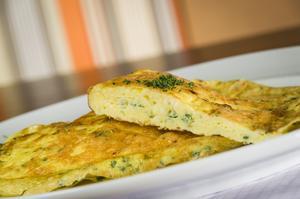 Receita de Omelete Caprese