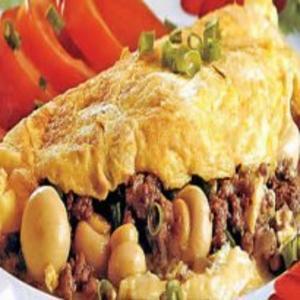 Receita de Omelete Caprichado