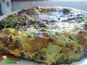 Receita de Omelete de Brócolis
