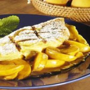 Receita de Omelete-suflê de Pêssego