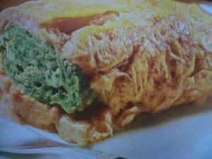 Receita de Omelete verde