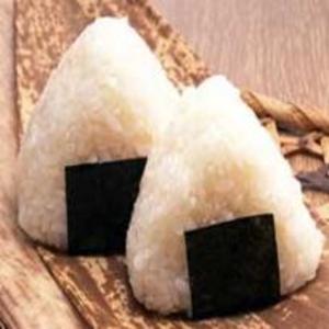 Receita de Onigiri com furikake