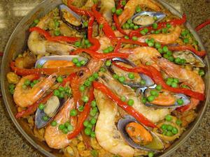 Receita de Paella a Valenciana