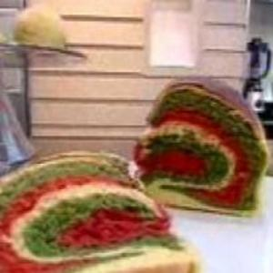 Receita de Pão Colorido do Hoje em Dia