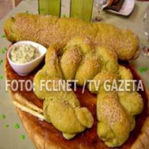 Receita de Pão de espinafre