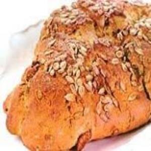 Receita de Pão de Figo Seco com Sementes de Girassol
