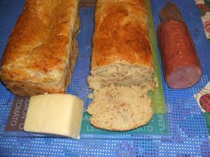 Receita de Pão de Mandioqiuinha com Queijo e Lombo Canadense