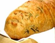 Pão integral com alecrim