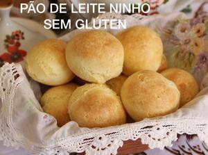 Receita de Pão Leite Ninho Sem Glúten