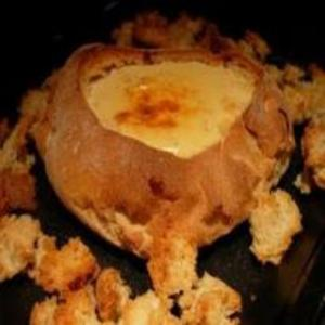 Receita de Pão recheado com queijo