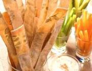 Pão Sueco com Estampa de Ervas