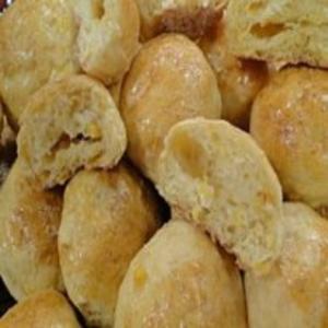 Receita de Pãozinho de Milho Verde
