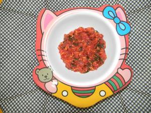Receita de Papinha de frango, batata, beterraba e escarola