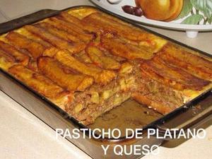 Receita de Pasticho de Banana e Queijo (Lasanha de Banana e Queijo)