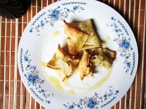 Receita de Pastéis assados com Nozes e Cream Cheese