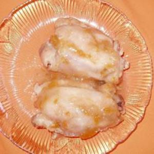 Receita de Peito de frango assado com geleia de damasco