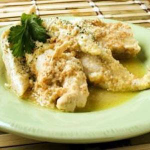Receita de Peito de frango empanado com parmesão rápido e fácil
