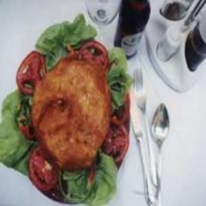 Receita de Peito de frango recheado com bacon presunto e queijo