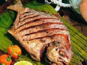 Receita de Peixe Assado ao estilo Cubano