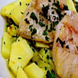 Receita de Peixe com batata