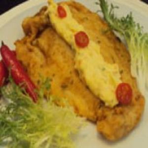 Receita de Peixe Empanado ao Molho Tártaro do Edu Guedes