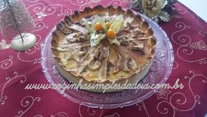 Receita de Pezza Dolce (Torta de Ricota Italiana)