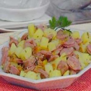 Receita de Picadinho de Linguiça e Batatas