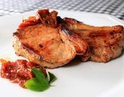Picanha Suína ao Molho de Tomate Seco
