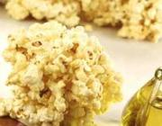 Pipoca caramelada com azeite de oliva espanhol